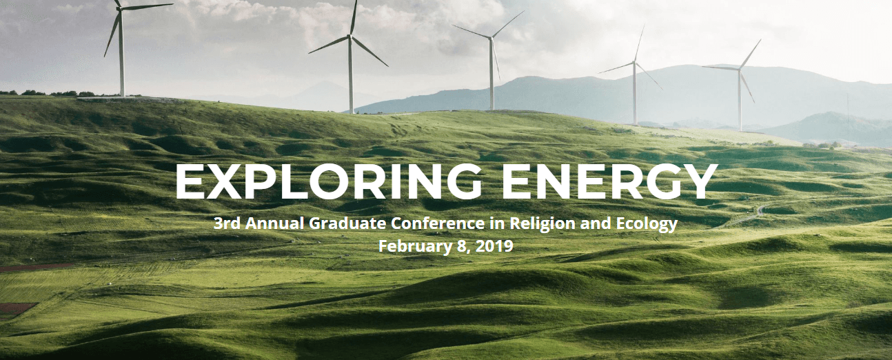 Graduate Conference in Religion and Ecology logo