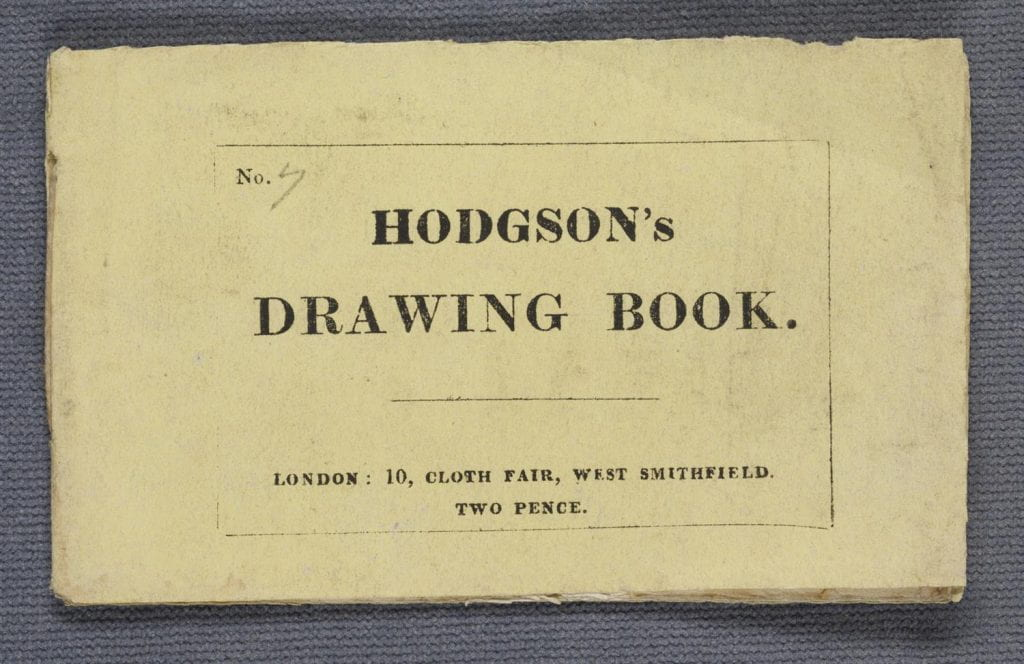 Hodgson's drawing book
