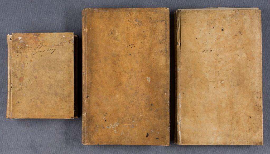 3 manuscript volumes