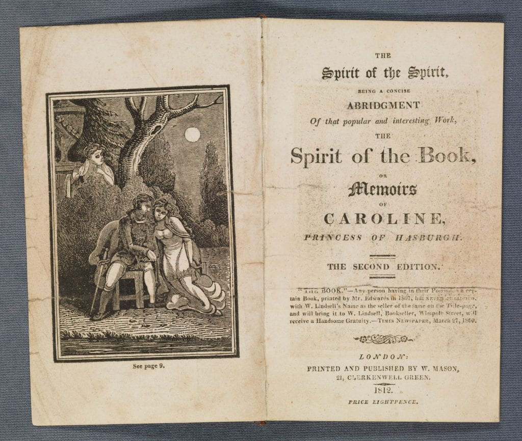 The spirit of the spirit . Title page