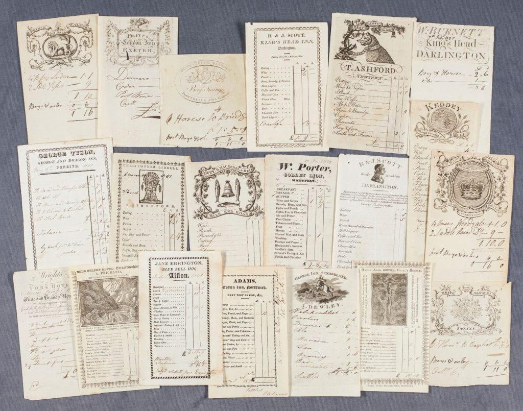 Invoices Recent Antiquarian Acquisitions