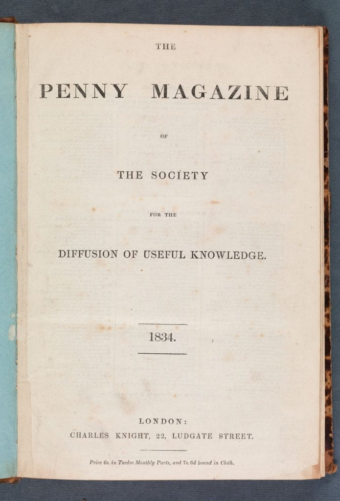 title page printed text