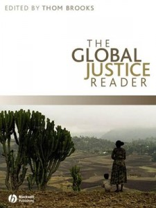"Book Cover of ""The Global Justice Reader"""