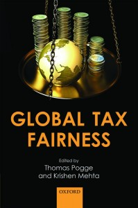 "Book Cover of ""Global Tax Fairness"""