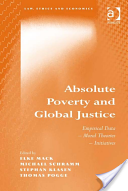 "Book Cover of ""Absolute Poverty and Global Justice"""