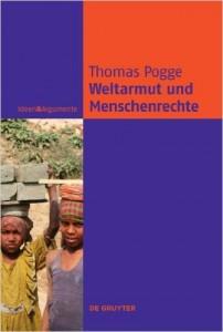 """Book Cover of """"Weltarmut und Menschenrechte: Kosmopolitische Verantwortung und Reformen"""""""