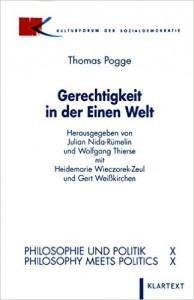 """Book Cover of """"Gerechtigkeit in der Einen Welt"""""""