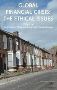 "Book Cover of ""Global Financial Crisis: The Ethical Issues"""