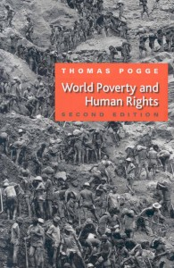 "Book Cover of ""World Poverty and Human Rights"""