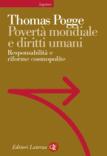 """Copertina del libro di """"Povertà mondiale e diritti umani: Responsabilità e riforme cosmopolitiche"""""""
