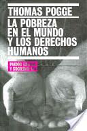 """Book Cover of """"La Pobreza en el Mundo y los Derechos Humanos"""""""