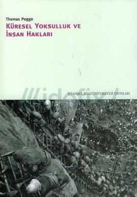 """Book Cover of """"Küresel Yoksulluk ve İnsan Hakları"""""""