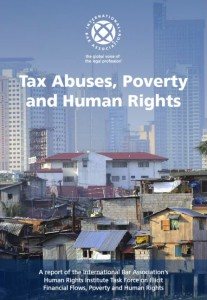 "Book Cover of ""Tax Abuses, Poverty and Human Rights"""