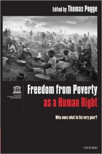 "Book Cover of ""Freedom From Poverty as a Human Right"""