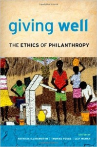 "Book Cover of ""Giving Well"""