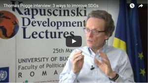 Thomas Pogge interview: 3 ways to improve SDGs