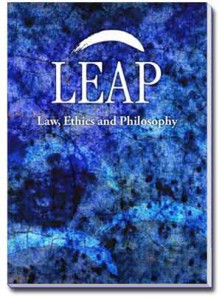 "Cover of the first issue of ""Law, Ethics and Philosophy"" journal"