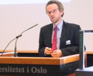 Prof. Pogge ved Universitetet i Oslo