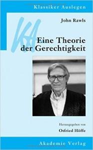 """Bucheinband von """"Eine Theorie Der Gerechtigkeit"""""""