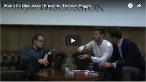 Room for Discussion Presents: Thomas Pogge.