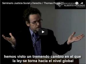 Seminario Justicia Social y Derecho / Thomas Pogge (1)