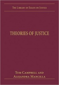 "Book Cover of ""Theories of Justice"""