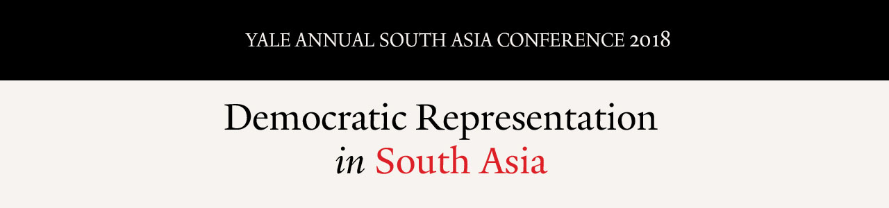 Yale Annual South Asia Conference - Democratic Representation in South Asia logo