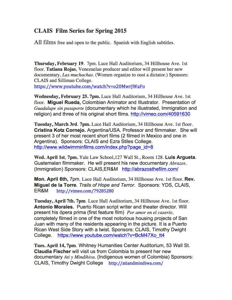 Spring2015Films