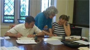 Professor Valerie Hansen: Calligraphy was always interesting to me.
