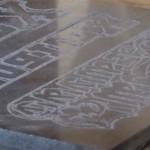 gravestone engraving