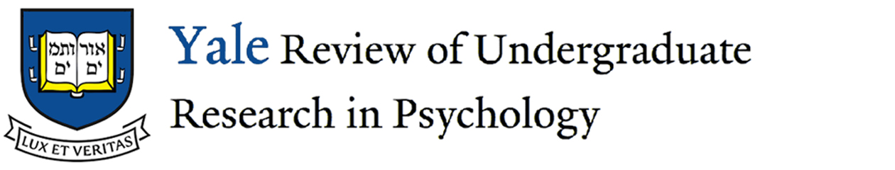 Yale Review of Undergraduate Research in Psychology