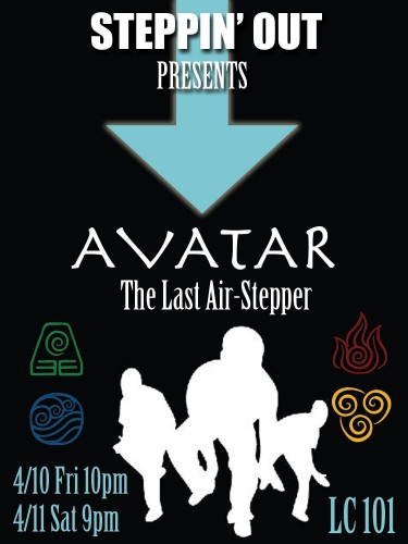 "Steppin' Out presents ""Avatar: The Last Air Stepper"""