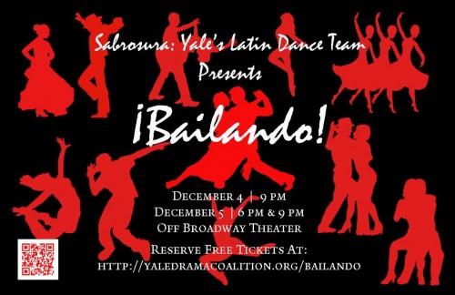 """Sabrosura Presents """"¡Bailando!"""""""