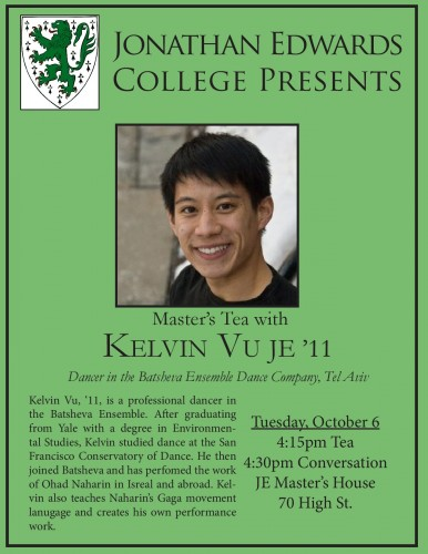 JE Master's Tea with Kelvin Vu JE'11