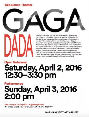 Spring 2016: Gaga/Dada