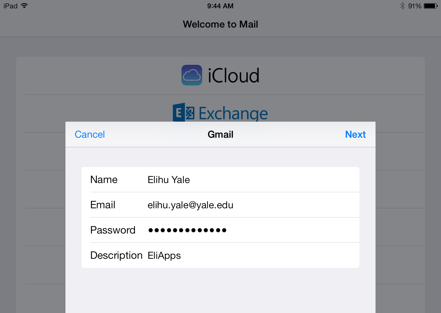 GmailUserSettings