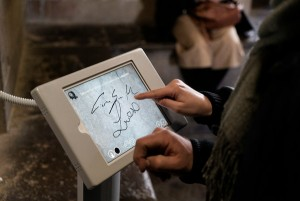 Tablets Combat Defacement Temptation in Florence