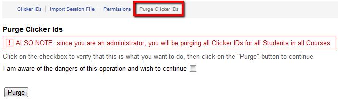 PurgeClickerIDs