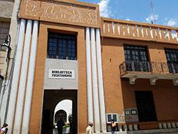 Biblioteca Yucatanense. Image courtesy of Carlos Hernandez, Ph.D. candidate in History