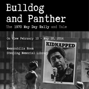 Bulldog and Panther exhibit poster