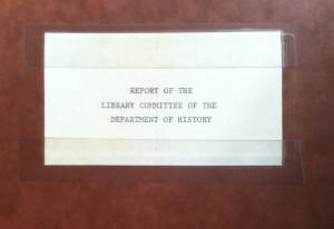 1969 History Report