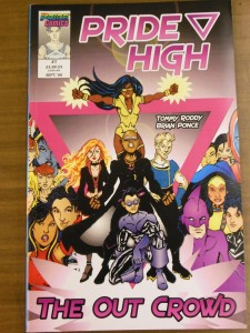 Cover of Issue #1 of Pride High
