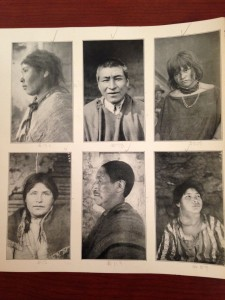 Dr. David F. Ford, photographs of Quichua individuals, 1915. Yale Peruvian Expedition Records (MS 664), Box 34, Folder 42.