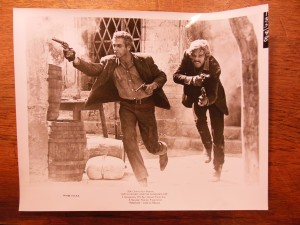 Paul Newman as Butch Cassidy and Robert Redford as the Sundance Kid photograph