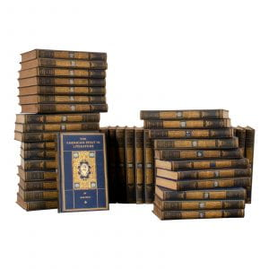 Image of volumes of the Chronicles of America volumes