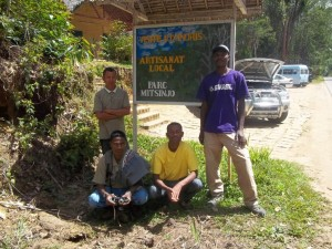 Field trip of the monitoring team to Andasibe with the NGO Mitsinjo.