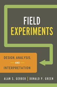 book cover image: Field Experiments
