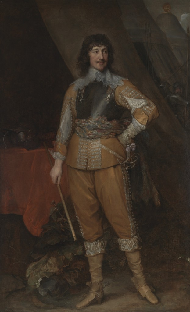 Mountjoy Blount, Earl of Newport. Anthony Van Dyck.