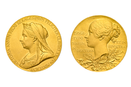 Victoria Medallion (from Diamond Jubilee), 1897