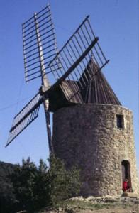 Medieval-Windmill